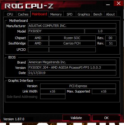 Test: Asus TUF FX505DY (Ryzen 5 3550H, Radeon RX 560X) Laptop