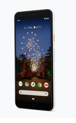 Recension av Google Pixel 3a. Recensionsex från Google Germany.