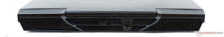 Rear: HDMI 2.0, USB 3.0, AC power