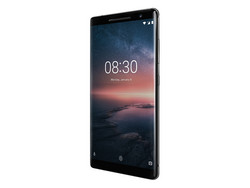 Recension: Nokia 8 Sirocco. Testenhet från notebooksbilliger.de