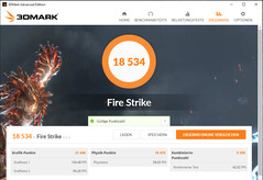 Fire Strike (Game Mode, nätansluten)