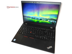 In the test: Lenovo ThinkPad T570. Test unit provided by Campuspoint.