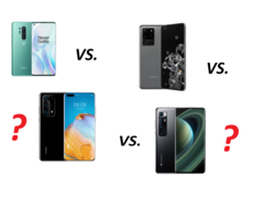 Kamerajämförelse: Xiaomi Mi 10 Ultra vs. Huawei P40 Pro Plus vs. Samsung Galaxy S20 Ultra vs. OnePlus 8 Pro