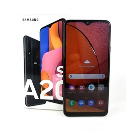 Recension av Samsung Galaxy A20s. Recensionsex från notebooksbilliger.de