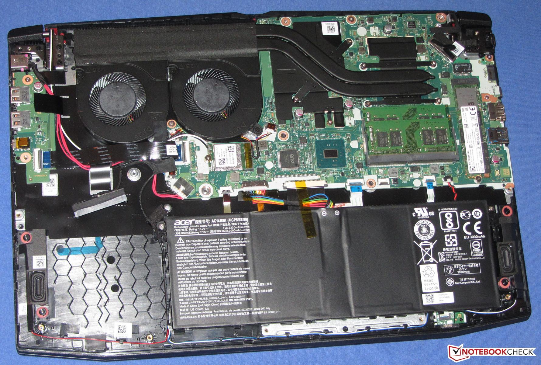 Test  Acer Nitro 5  7700HQ  GTX 1050 Ti   sammanfattning   Notebookcheckse