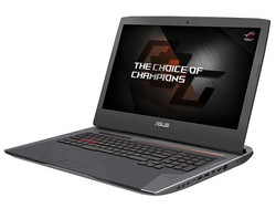 In review: Asus RoG G752VS-BA338T. Test model courtesy of Notebooksbilliger.