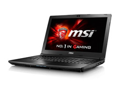 In review: MSI GL62 6QF. Test model courtesy of Notebooksbilliger.
