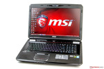In review: MSI GT70 2PE-890US. Test model provided by Nvidia Germany.