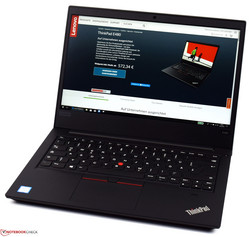 Lenovo ThinkPad E480. Review unit courtesy of Campuspoint.