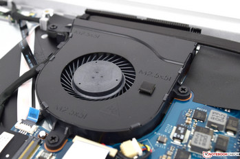 A cooling fan can be found inside.